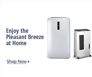 Enjoy the pleasant breeze at home