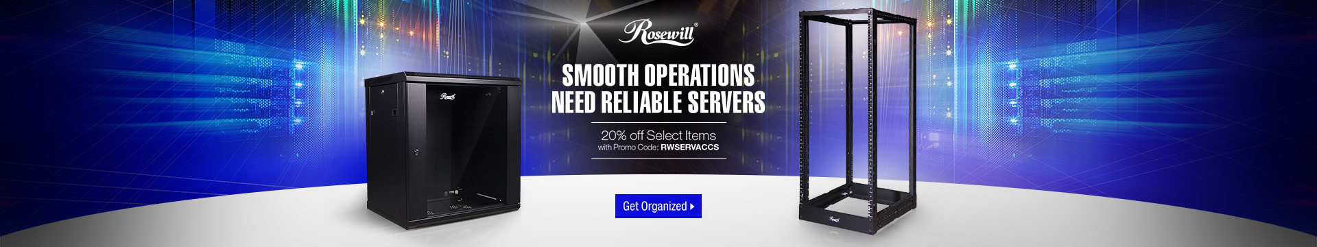 Rosewill SMOOTH OPERATIONS NEED RELIABLE SERVERS