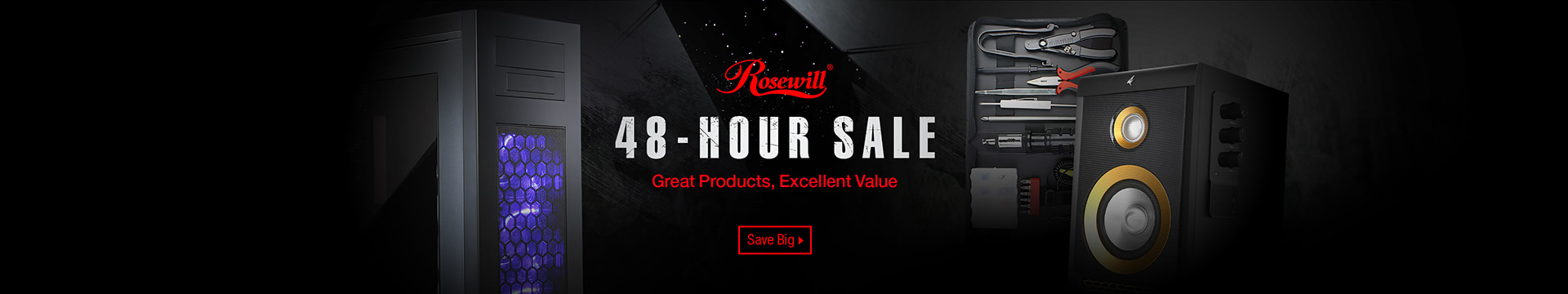 Rosewill 48 Hour Sale