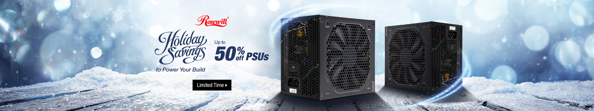 Holiday Savings to Power Your Build