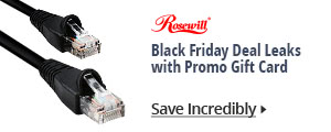 Black Friday Deal Leaks with Promo Gift Card