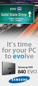 Samsung 840 EVO SSDs