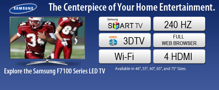 Samsung The Centerpiece of Your Home Entertainment
