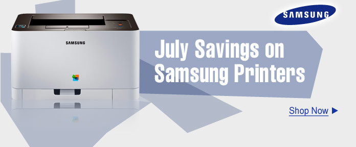 July Savings on Samsung Printers