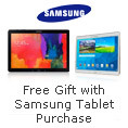 Free gift with select Samsung tablet purchase