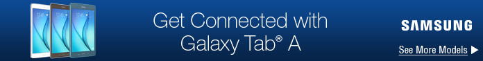 Get Connected with Galaxy Tab A