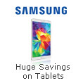 Huge Savings on Samsung Tablets