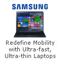 Redefine Mobility with Ultra-fast,Ultra-thin Laptops