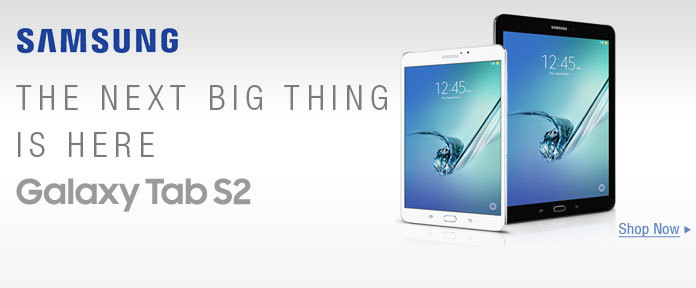 The Next Big Thing Is Here — Samsung Galaxy Tab S2
