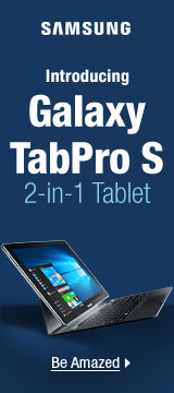 Introducing Galaxy TabPro S 2-in-1 Tablet