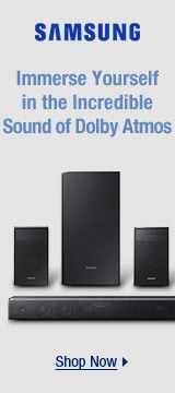 Immerse yourself in the incredible sound of Dolby Atmos