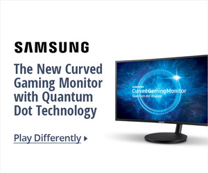 The NEW Curved Gaming Monitor