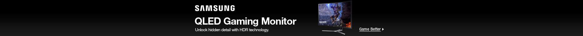 Samsung — QLED Gaming Monitor