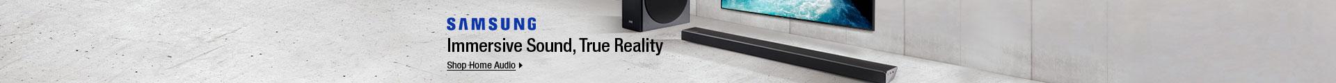 Samsung Immersive Sound, True Reality