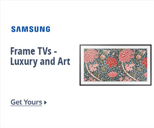 Frame TVs - Luxury and Art