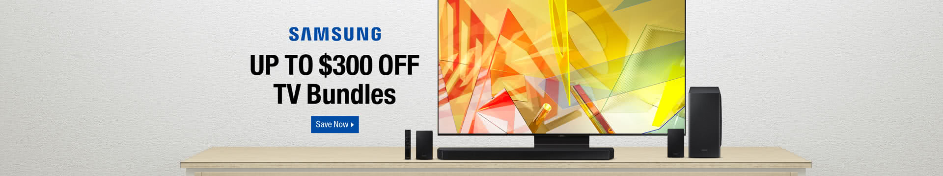 Up to $300 off TV Bundles