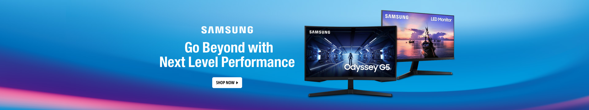 SAMSUNG Go Beyond with Next Level Performance