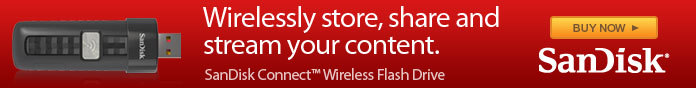 Wirelessly store, share and stream your content.