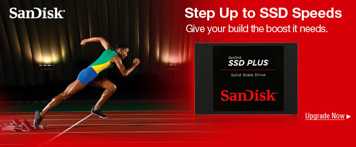 Step up to SSD speeds