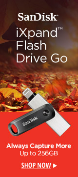 SanDIsk iXpand Flash Drive Go