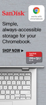Simple, always-accessible storage for your Chromebook