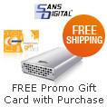 Free Shipping + Free Promo Gift Card