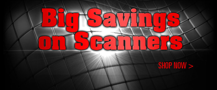 Big Savings on Scanners