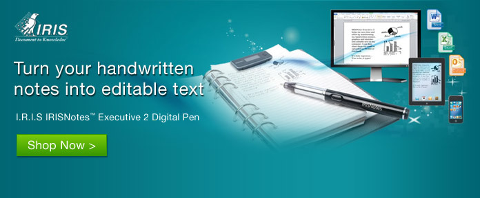 IRIS Turn Your Handwritten Notes Into Editable Text