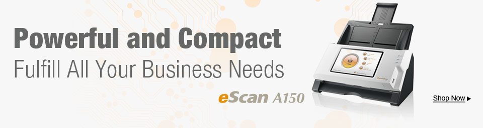 Powerful and Compact eScan A150