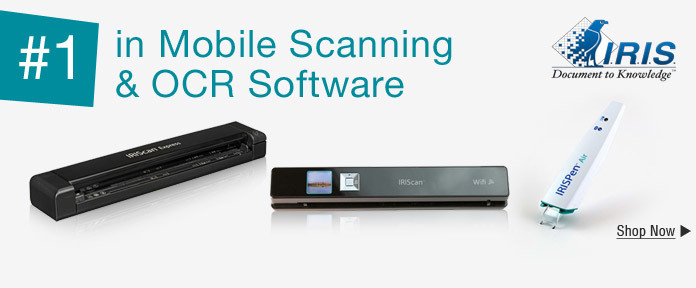 #1 in Mobile Scanning & OCR Software