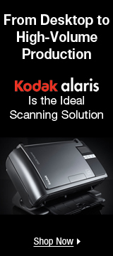 Kodak alaris Is the ideal Scanning Solution