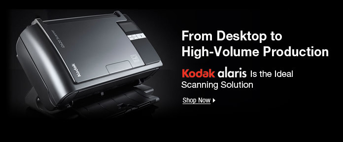 Kodak Alaris Scanning Solutions