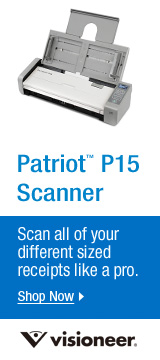 Patriot P15 Scanner