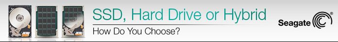 SSD, Hard Drive or Hybrid?