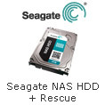 Seagate NAS HDD + Rescue.