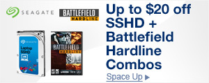 Up to $20 off SSHD + Battlefield Hardline Combos