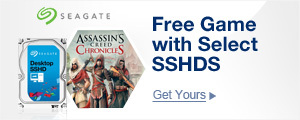 Free Game with Select SSHD