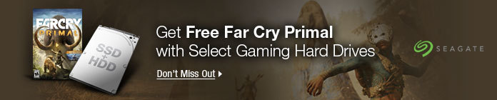 Get Free Far Cry Primal with Select Gaming Hard Drives