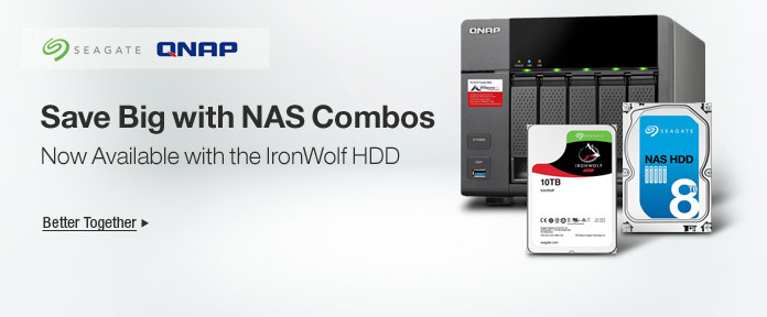Save Big with NAS Combos