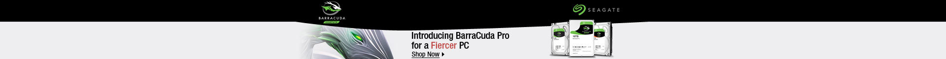 Introducing BarraCuda Pro for a Fiercer PC