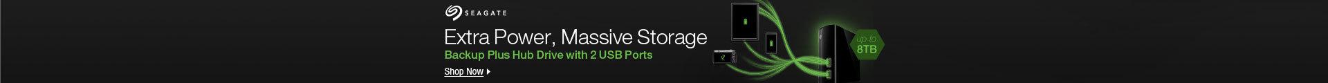 Extra Power, Massive Storage