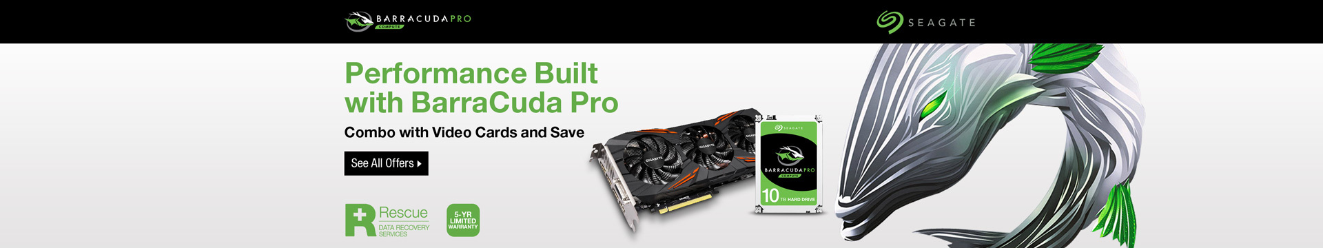 Performance Built with BarraCuda Pro