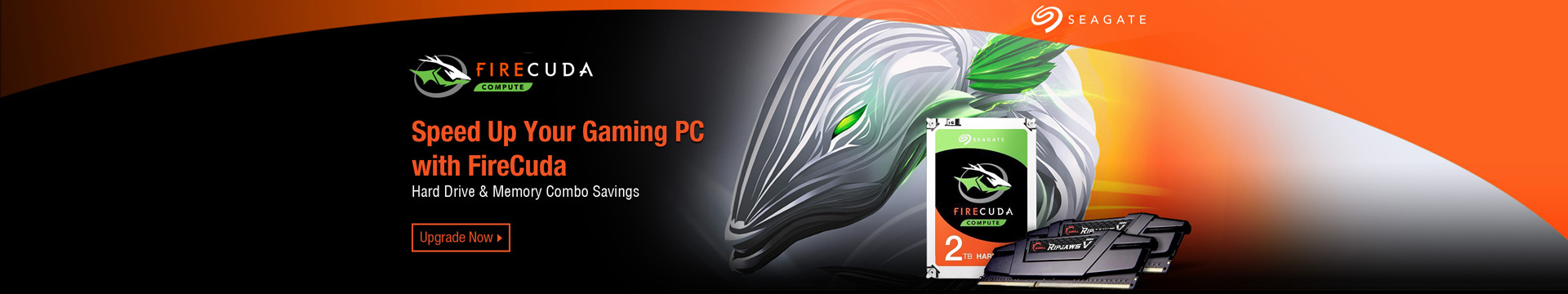 Seagate FireCuda. Speed Up Your Gaming PC with FireCuda