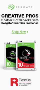Seagate BarraCudaPro IronWolfPro Rescue