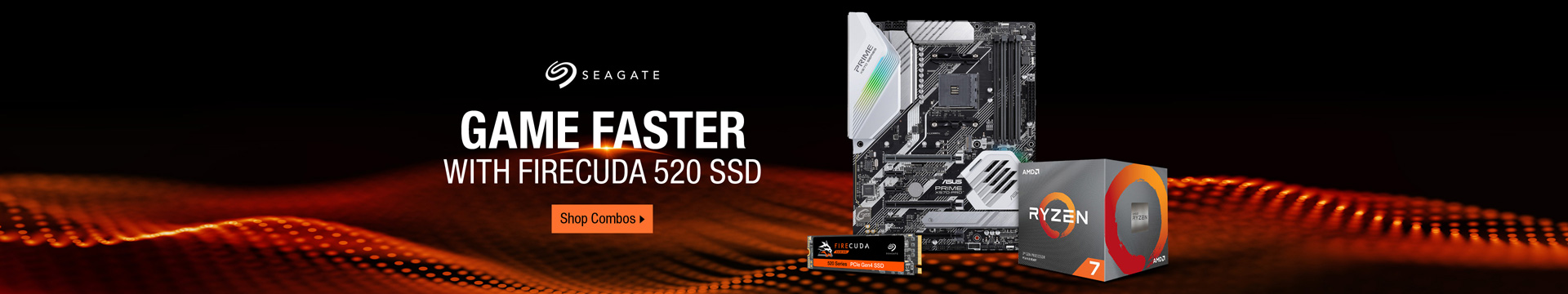 GAME FASTER WITH FIRECUDA 520 SSD