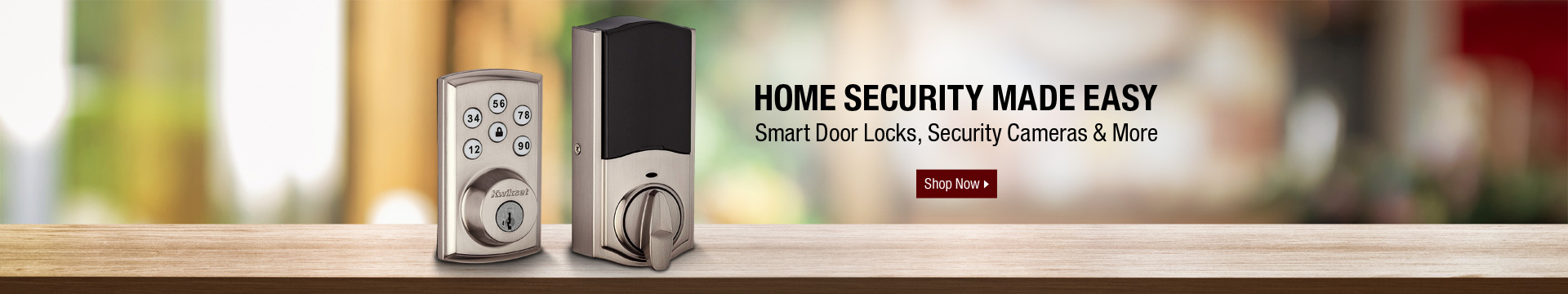 Home security made easy