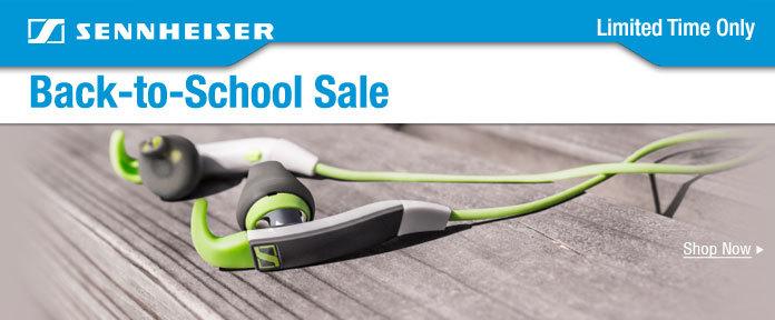 Sennheiser Back-to-School Sale