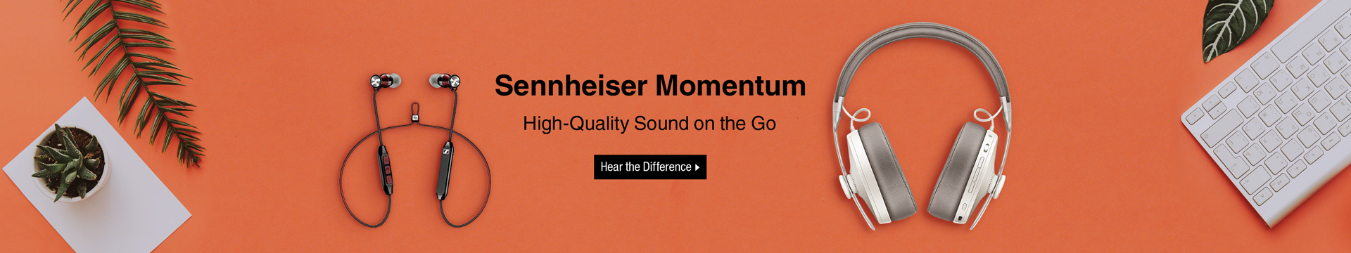 Sennheiser Momentum High-Quality Sound on the Go