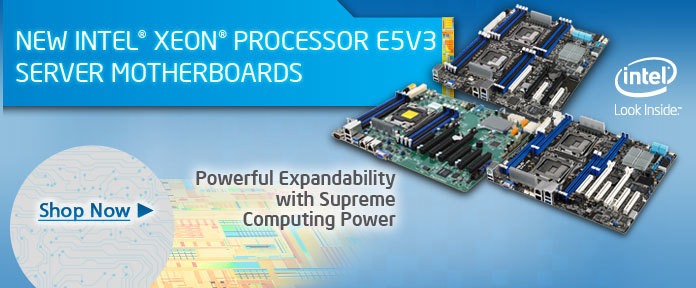 New INTEL XEON Process E5V3 Server Motherboard
