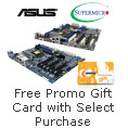 Free Promo Gift Card with Select Purchase